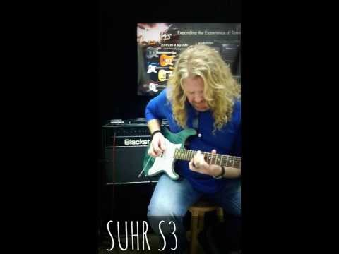 Mark Dunn Demos The Suhr Pro Series S3 SSH Electric Guitar