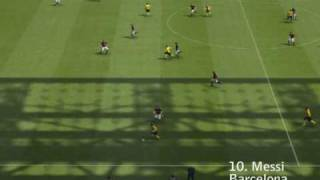 Top 25 Goals PES 2009 HQ