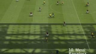 Top 25 Goals PES 2009 HQ