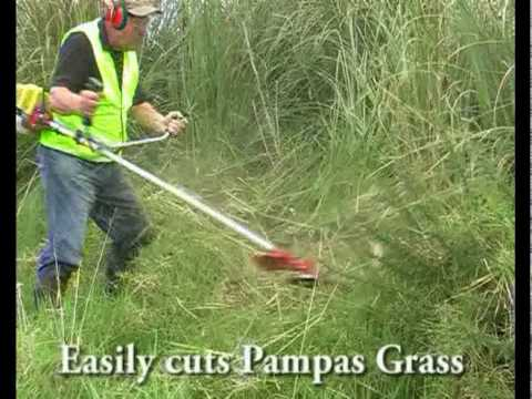 Brush Cutter Blade Youtube