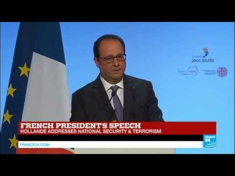 REPLAY - Watch French president François Hollande address on terrorism