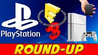 Playstation E3 Announcements Round Up!!! Ps4, Ps Vita Tv, Playstation Now #e32014 #ps4