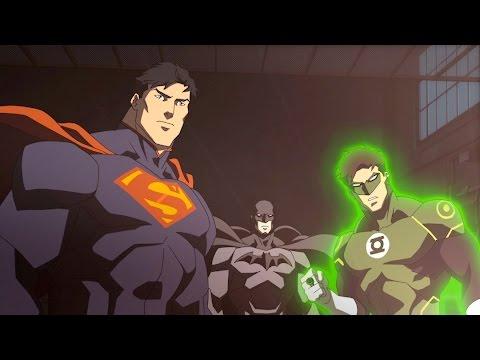Justice League - War Batman and Green Lantern Vs. Superman (1080p)