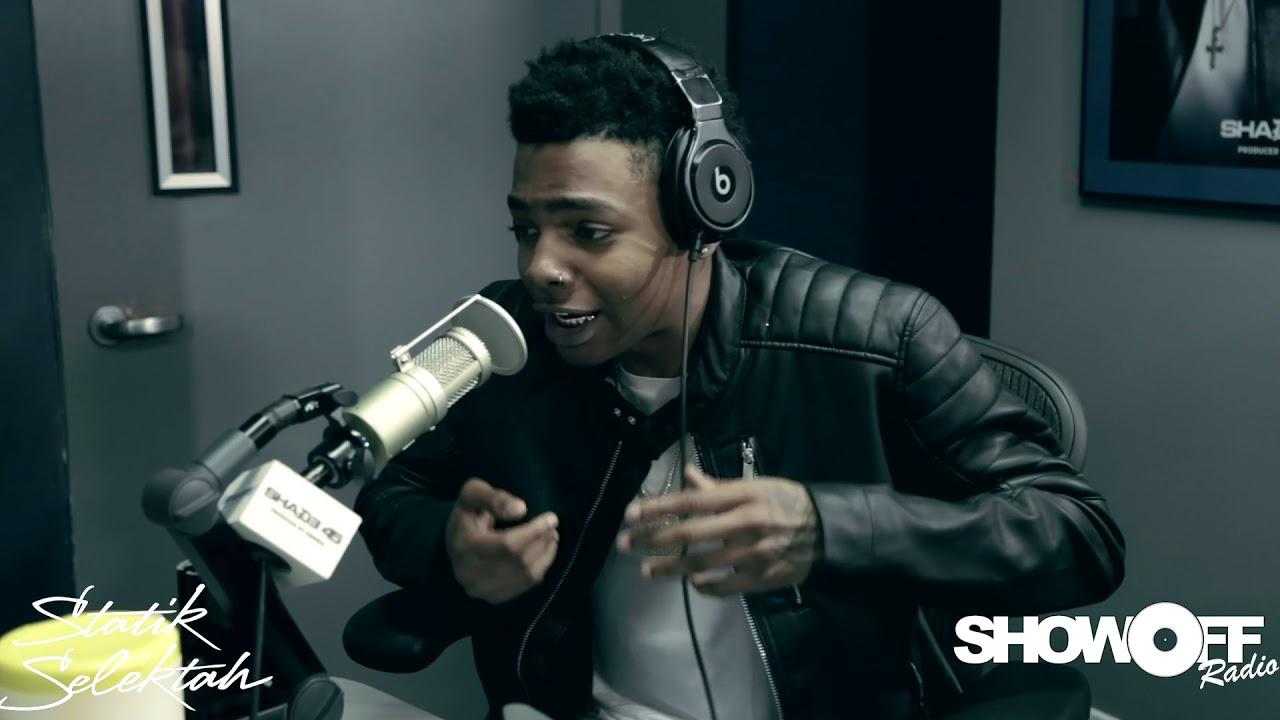 9541f04bd08b LowFi freestyle on Shade 45 Showoff Radio with Statik Selektah - YouTube