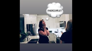 Wow! The client's reaction is priceless! Home Simplify Commercial.