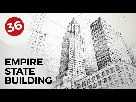 Drawing Chrysler Building | Daily Architecture Sketches #36