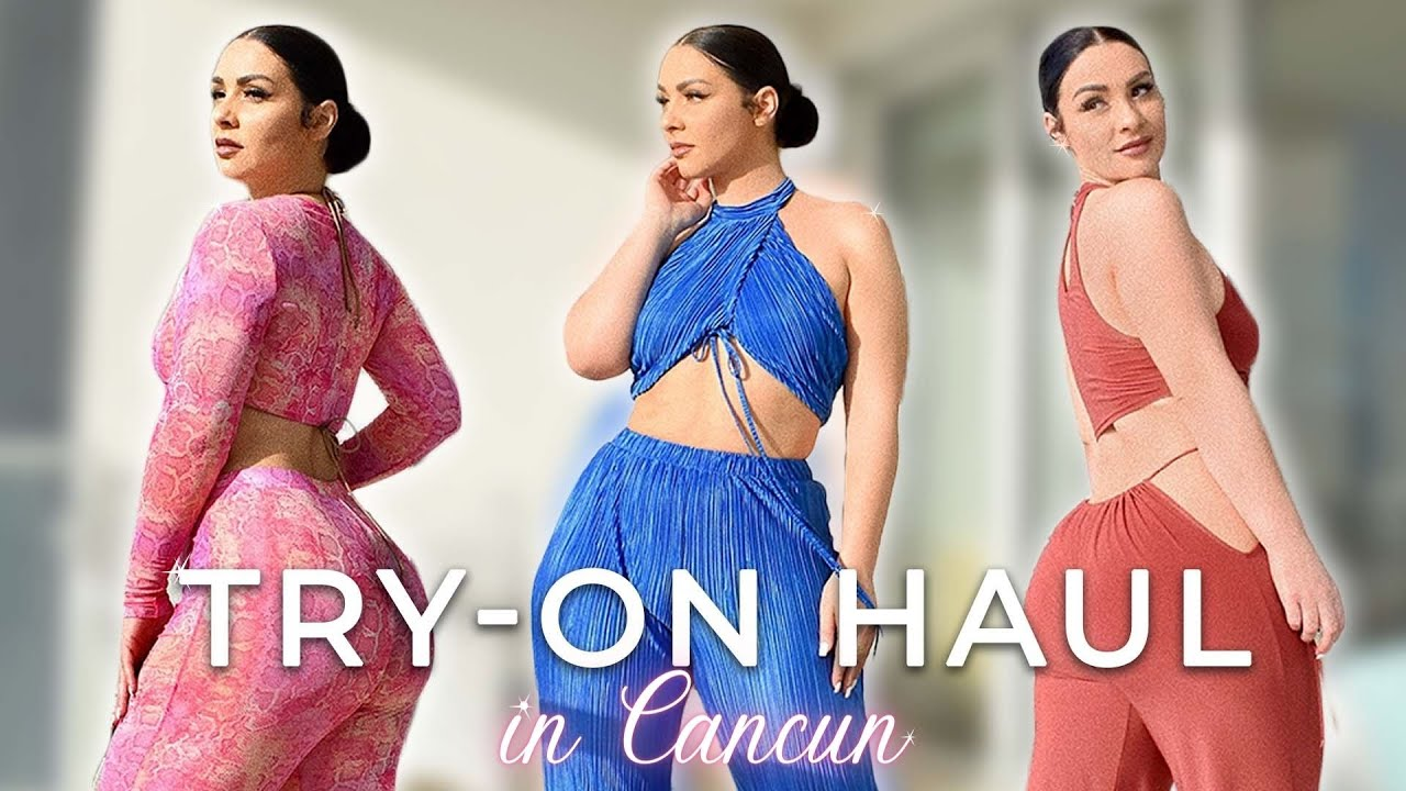SETS TRY-ON HAUL IN CANCUN