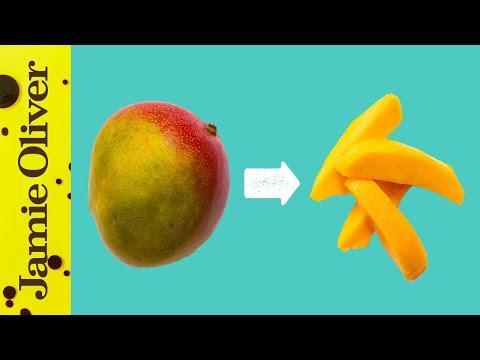How To Prepare a Mango | Jamie's 1 Minute Tips