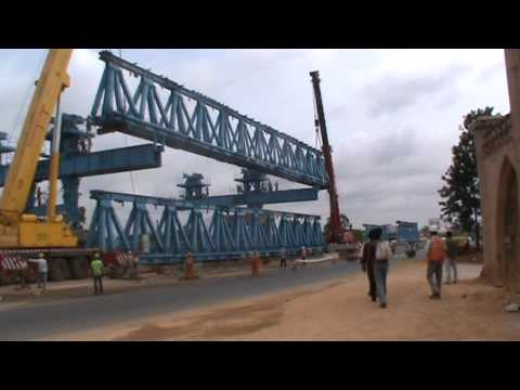 NH-7 Elevated Flyover Construction