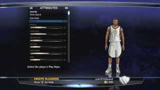 Nba 2k14 mycareer ep.1 | creation of an athletic pg | how to create the perfect myplayer