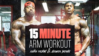 15 Minutes Arm Workout, No Breaks with Simeon Panda