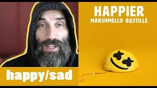 Marshmello ft. Bastille - Happier (Official Music Video) REACTION/REVIEW