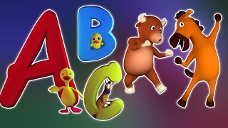 música do alfabeto para crianças | crianças músicas portuguesas | ABC Song for Kids