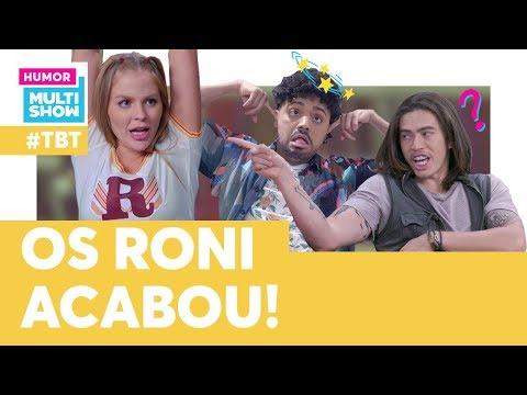 Só mesmo a LUISA SONZA para salvar a vida dos RONI  TBT Os Roni  Humor Multishow