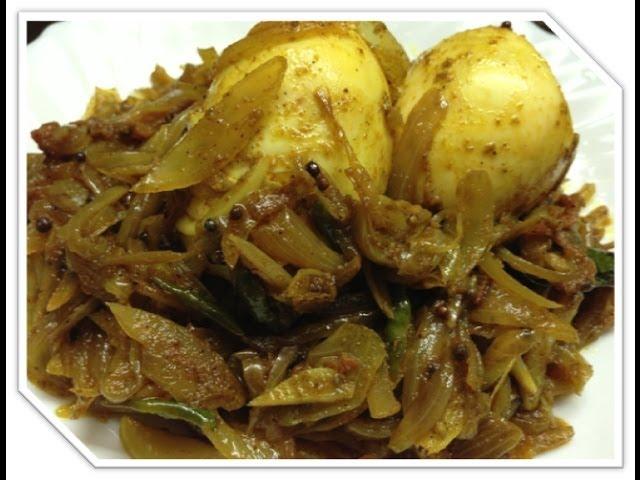 Kerala egg roast, By Garam Masala
