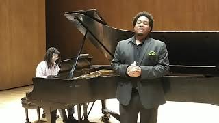 Key'mon Murrah sings Laudamus te from Mozart's Mass in C minor