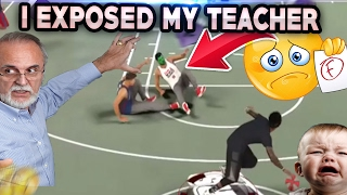 nba 2k17 i exposed my teacher dropped off tried to fail me best jumpshot ever nba 2k17 mypark
