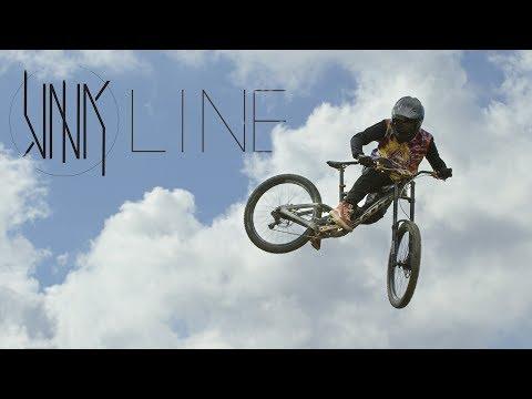 Racking up the air miles on Nico Vink's Newest Creation - Vink Line in Châtel Bikepark