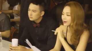 Minh Hằng và Ngô Kiến Huy tập làm MC, Đông Nhi tập nhảy