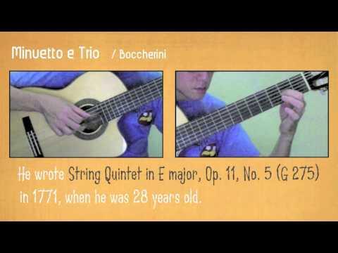Minuetto e Trio /Boccherini (Guitar)