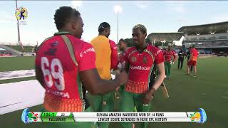 LIVE CPL | Game 8 | Guyana Amazon Warriors v Jamaica Tallawahs #CPL20