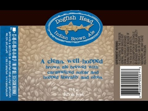 Beer Review 89: Indian Brown Ale - Dogfish Head Brewing Co.