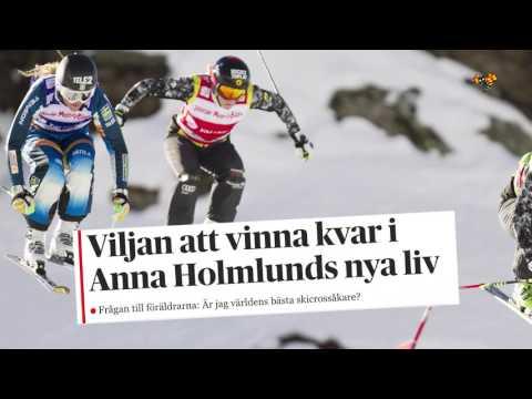 Anna Holmlund i känslosamt möte med DN