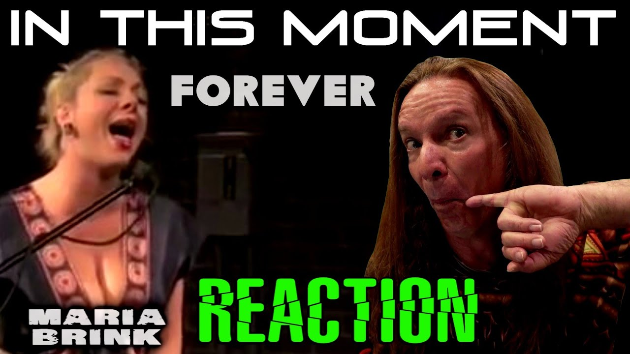 Vocal Coach Reacts To In This Moment | Maria Brink | Forever | Live | Ken Tamplin