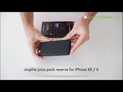 buy popular fdae4 0a7e7 mophie juice pack reserve for iPhone 6S / 6 Review - 3353_JPR-IP6-BLK