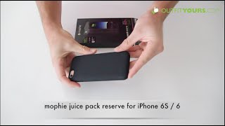mophie juice pack reserve for iPhone 6S / 6 Review - 3353_JPR-IP6-BLK