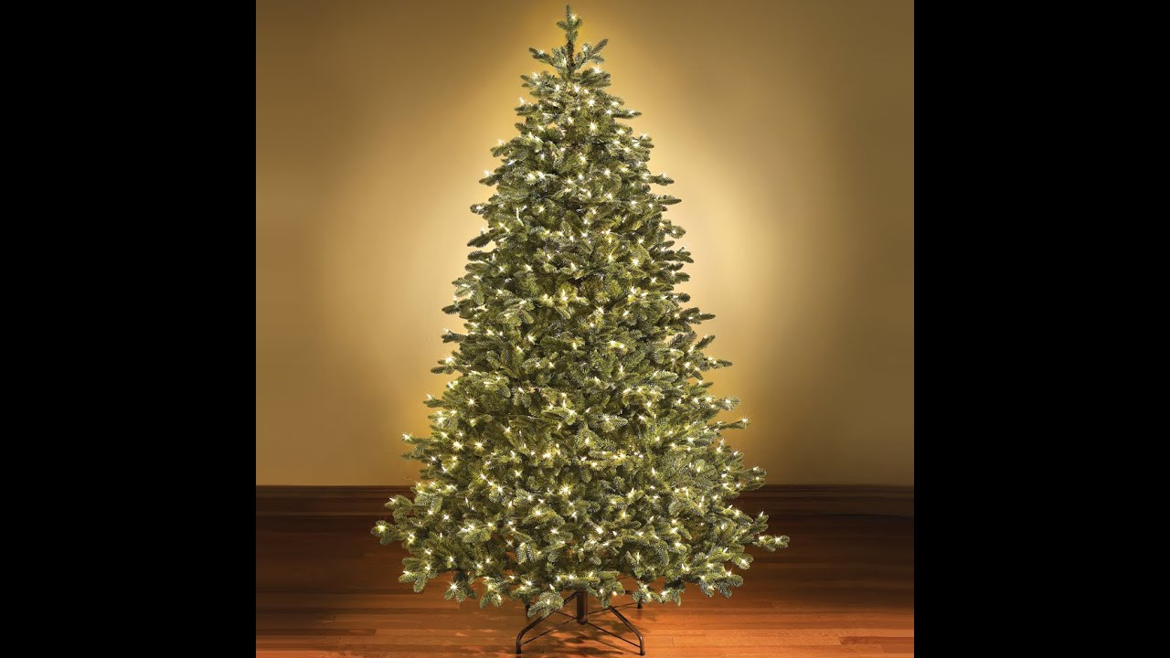 artificial christmas trees 45 feet tall most realistic 45 feet christmas trees youtube