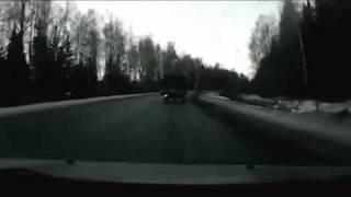 Crash Head-on truck car