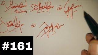 كيفية إنشاء توقيع اسمك على الأبجدية ||A,B,D,H,G,S,M,U|| #161