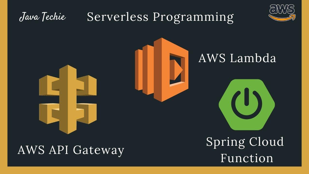 Trigger Spring Cloud Function on AWS Lambda using API Gateway