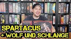 Spartacus + Wolf und Schlange Erweiterung - Brettspiel - Review - Boardgame Digger