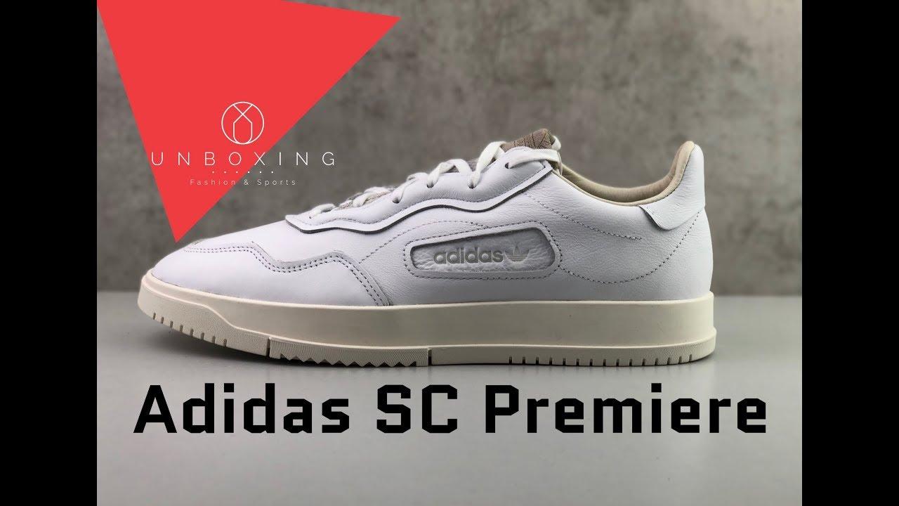 Adidas SC Premiere  Ftwr Wht Crystal White Chalk White   2511e8854