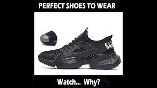 Most Fashionable Safety Shoes - Indestructible Shoes  | YTM