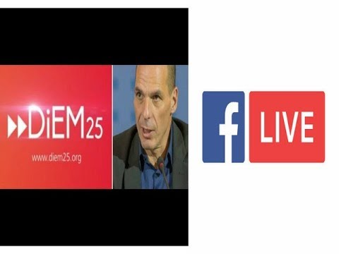 Yanis Varoufakis / Γιάνης Βαρουφάκης  Q&A Facebook Live Video Chat September 2017 (05/09/2017)