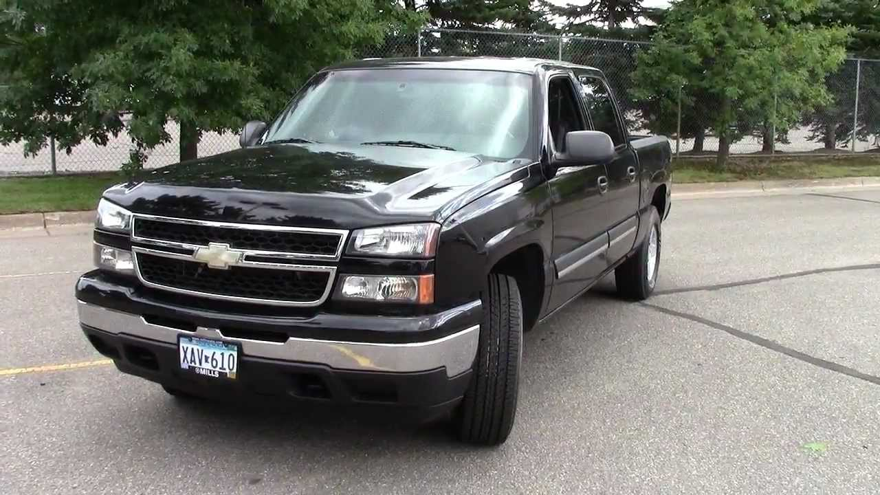 2006 Chevrolet Silverado Crew Cab Youtube