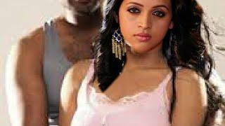 bhavana hot hug boobs pressing_