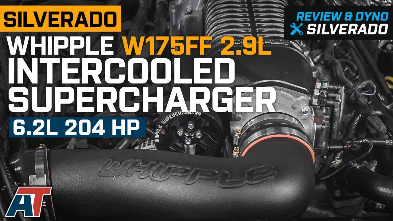 2014-2018 Silverado Whipple W175FF 2 9L Intercooled Supercharger Kit 6 2L  Review & Dyno