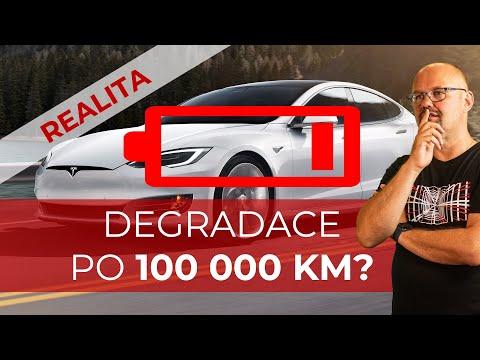 #142 Degradace Baterie Tesla Model S75D po 100 000 km | Teslacek