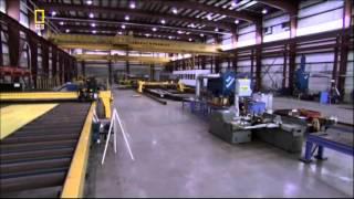 Суперсооружения: военный корабль ВМФ США Virginia  (HD качество)