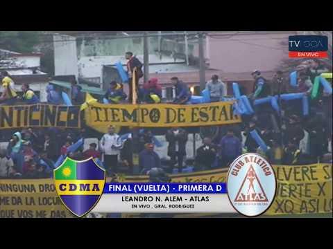 ALEM - ATLAS | FINAL REDUCIDO PRIMERA D (VUELTA) - EN VIVO