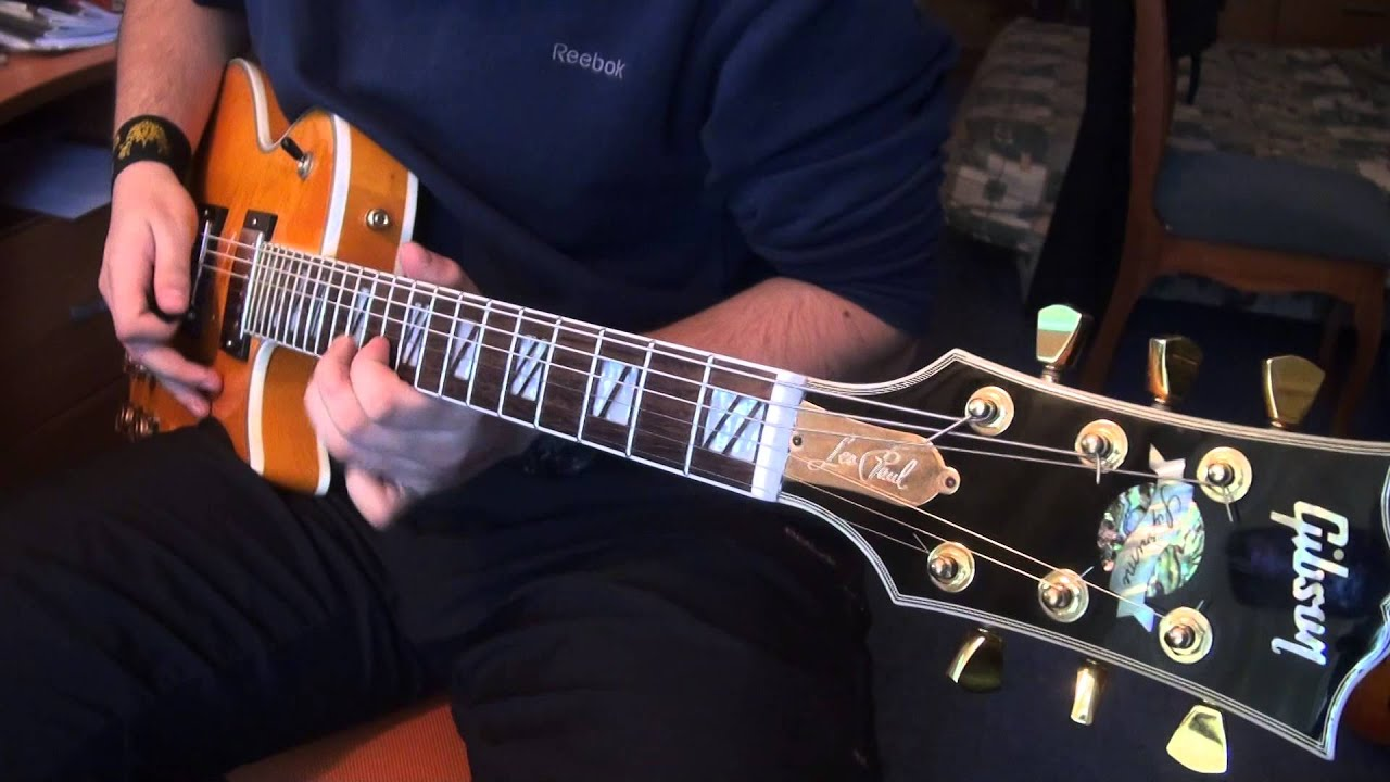 Gibson Les Paul Supreme 2005 Replica - YouTube