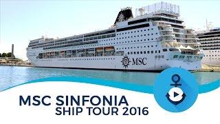 Ship Tour di MSC Sinfonia realizzato ad Agosto 2016 durante la croc...
