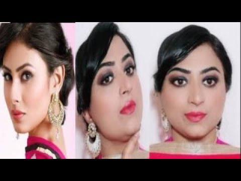 makeup-under-10-rupees/rs|mouny-roy-inspired-makeup-look-|party-makeup-under-10-rupees-|step-by-step