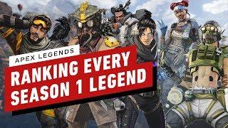 Ranking Every Season 1 Legend in Apex Legends