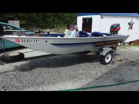Cleaning my aluminum boat