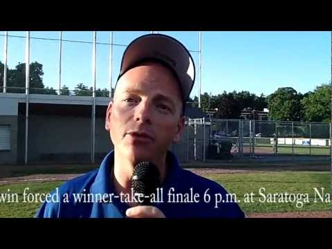 Saratoga Nationals force if necessary game with win